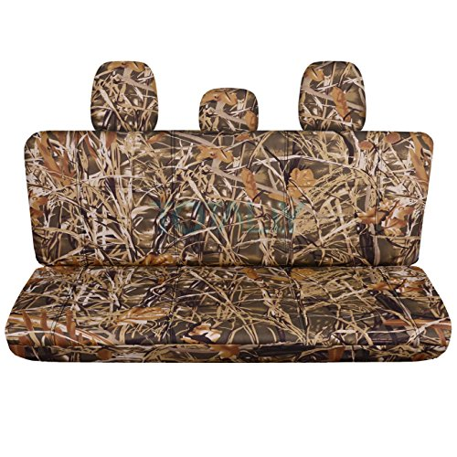 - Totally Covers Fits 2011-2014 Ford F-150 SuperCab/SuperCrew Camo Truck Seat Covers (Rear 60/40 Split Bench) w 3 Headrests, w/wo Center Armrest: Wetland Camouflage (16 Prints) 2012 2013 F-Series F150
