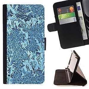 For Samsung Galaxy S5 Mini (Not S5), SM-G800,S-type Planta Naturaleza Forrest Flor 58- Dibujo PU billetera de cuero Funda Case Caso de la piel de la bolsa protectora