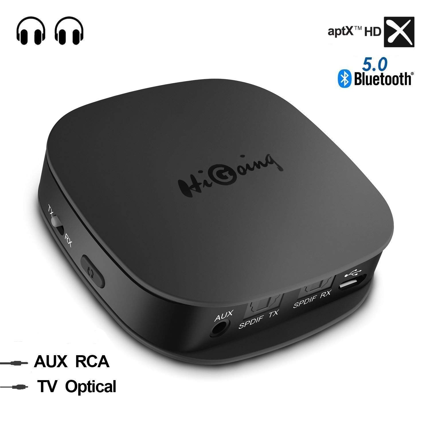 Bluetooth 5 0 Transmitter Receiver for TV with aptx HD: Amazon in