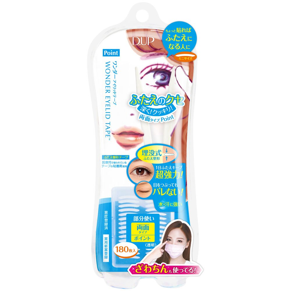 D.U.P Wonder Eyelid Tape - Point - 180 tapes 4946324026370