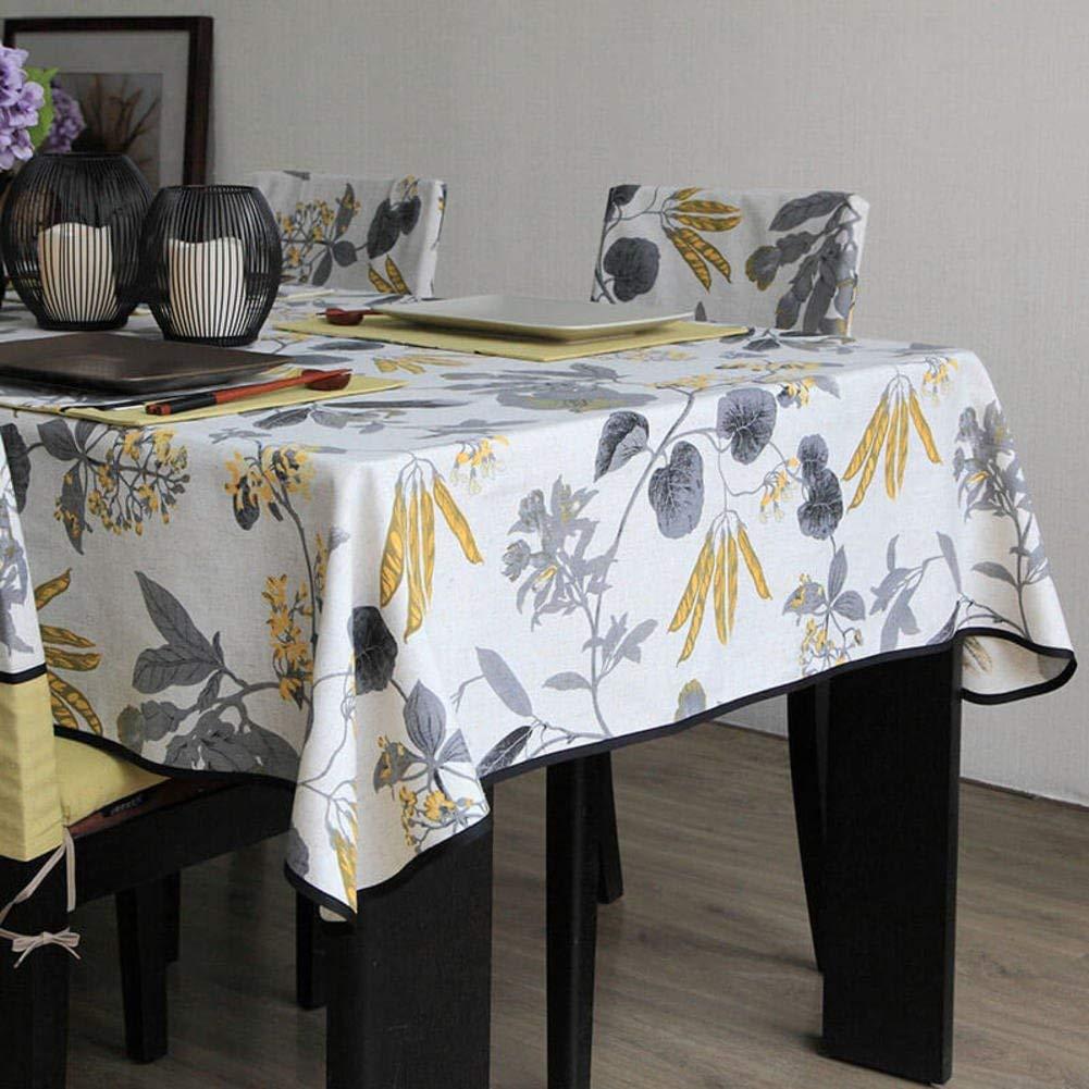Shuangdeng テーブルクロス現代中国のテーブルクロスラウンドテーブルクロスを印刷 (Color : A, サイズ : 140x160cm(55x63inch)) 140x160cm(55x63inch) A B07SDL21ZN