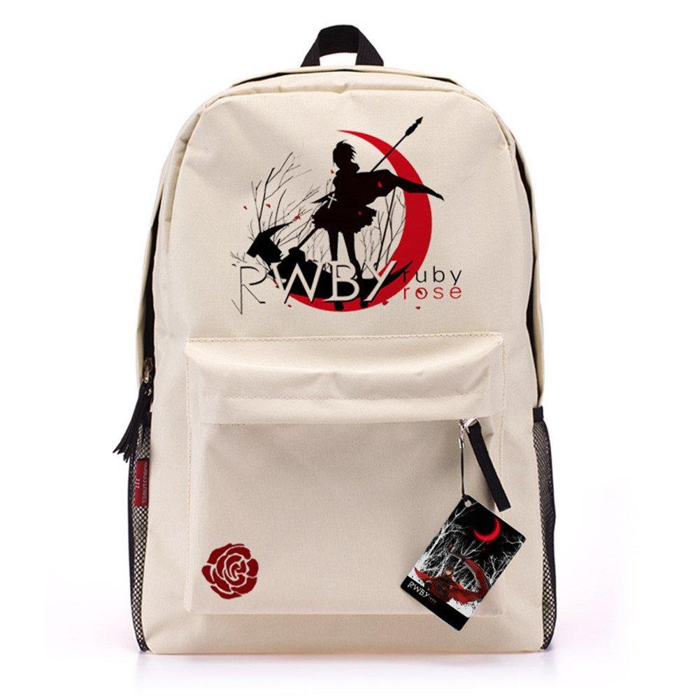 BagFamily® RWBY Ruby Rose Anime Backpacks Schoolbag