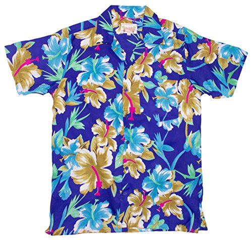 ragstock-mens-big-flower-print-hawaiian-shirt-blue-x-large