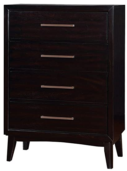Furniture Of America CM7792EX C Snyder Espresso Chest Drawer
