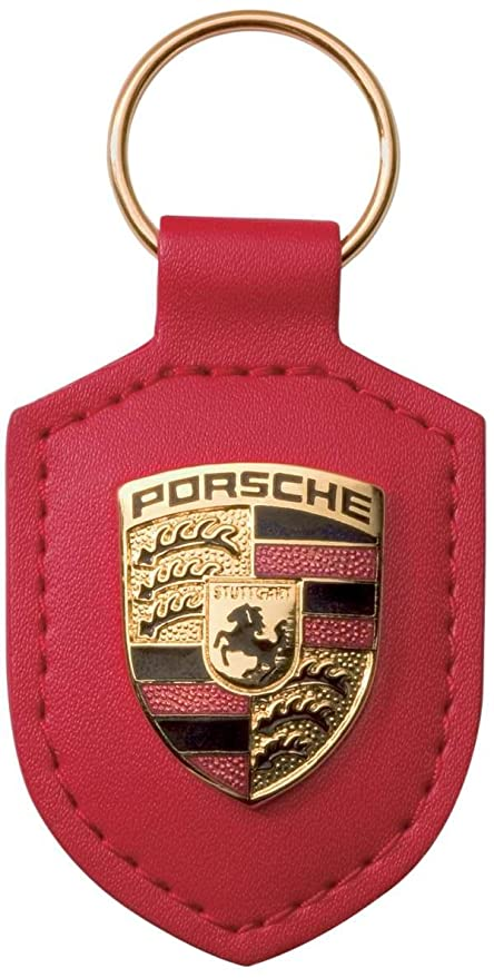 Amazon.com: Porsche - Llavero de piel: Automotive