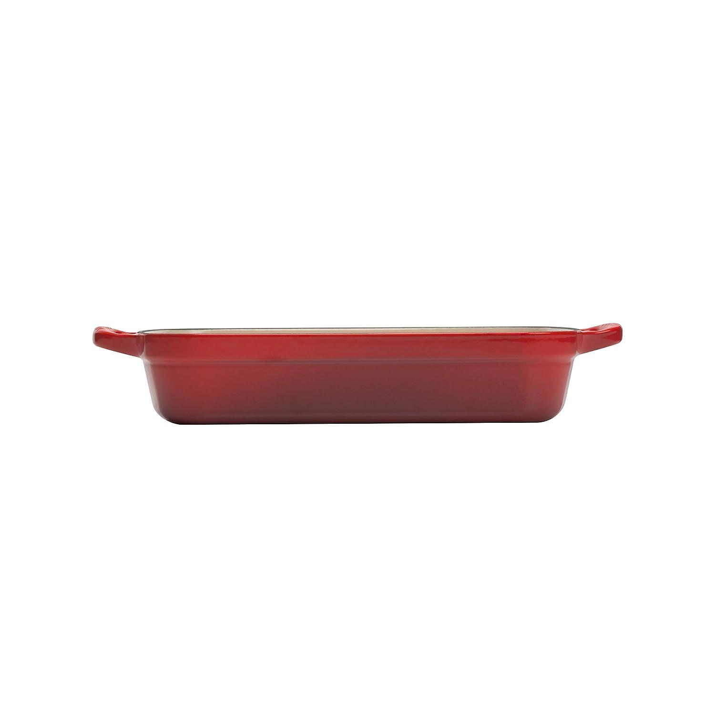 33 cm 201843368 4.9 Litres Almond Le Creuset Signature Enamelled Cast Iron Rectangular Roasting Dish