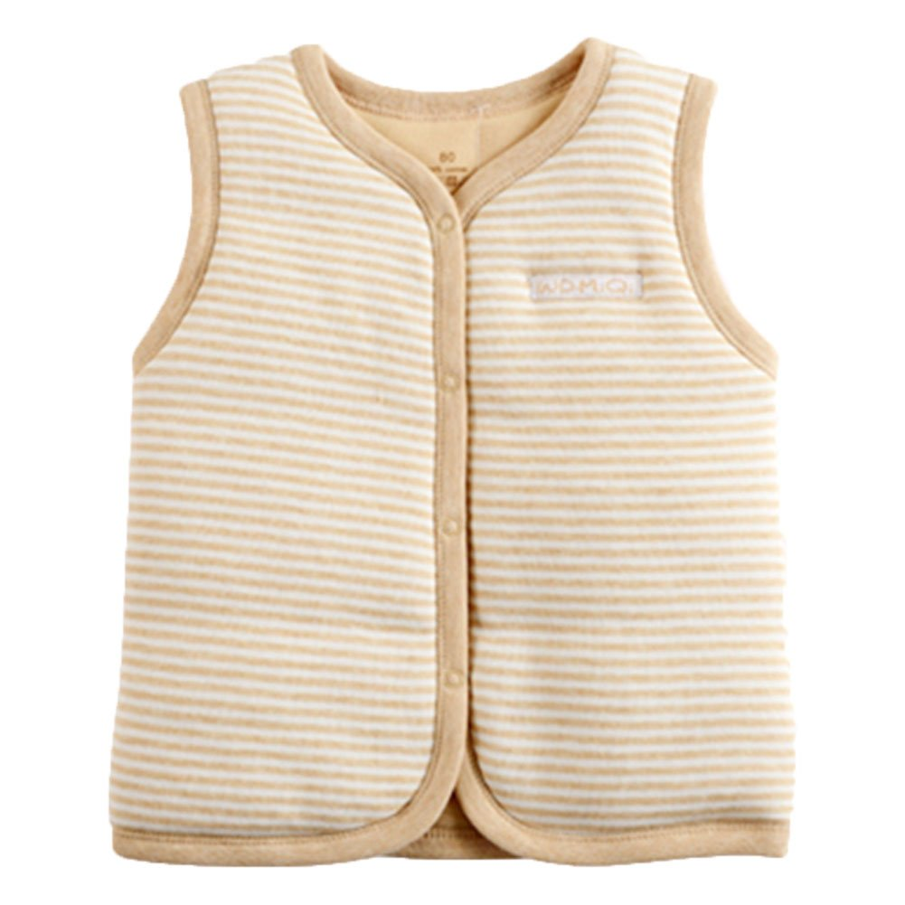 M.V Baby Cotton Warm Vests Unisex Infant to Toddler Light Padded Waistcoat Monvecle