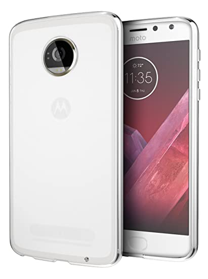 online store 3154c ce000 Moto Z2 Force Case, Cimo [Grip] Premium Slim Protective Cover for Motorola  Moto Z2 Force - Clear