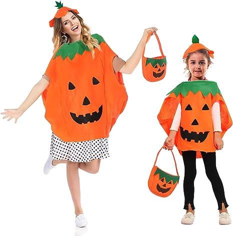 Trooer 2 Juegos de Disfraz de Calabaza de Halloween para niños con ...