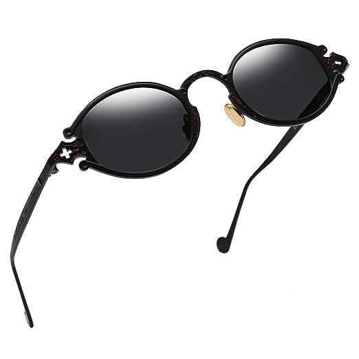 Amazon.com: Gafas de sol estilo vintage gótico John Lennon ...