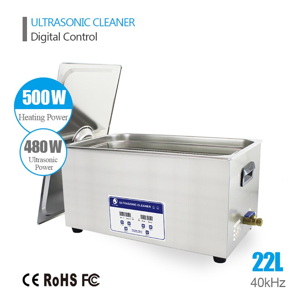 22L Professional Ultrasonic Cleaner Industrial/Commercial component/ Auto Engine Parts/Auto/Moto parts/Car Accessories Cleaning /Hospital Medical equipment/Devices Cleaning