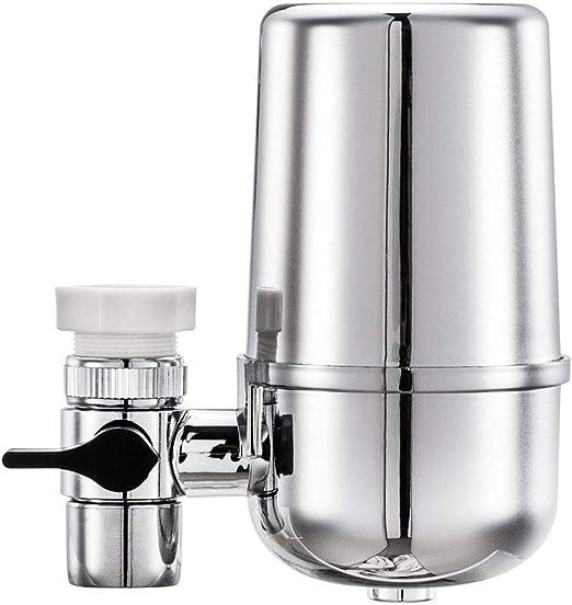 Yiwa Productos para Casa y Cocina, Filtro Frontal doméstico Potable Filtro purificador de Agua del Grifo para Cocina Suministros Doméstica: Amazon.es: Hogar