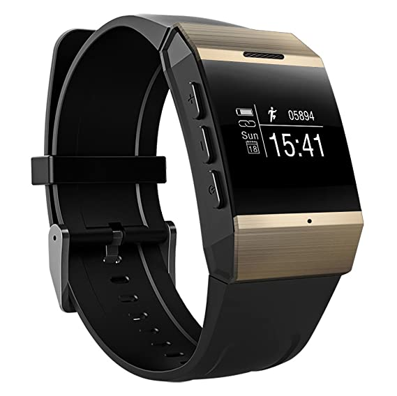 Amazon.com: Guoer Smart Watch Bluetooth Watch Cell Phone for ...