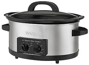 Waring WSC650 Professional 6-1/2-Quart Slow Cooker