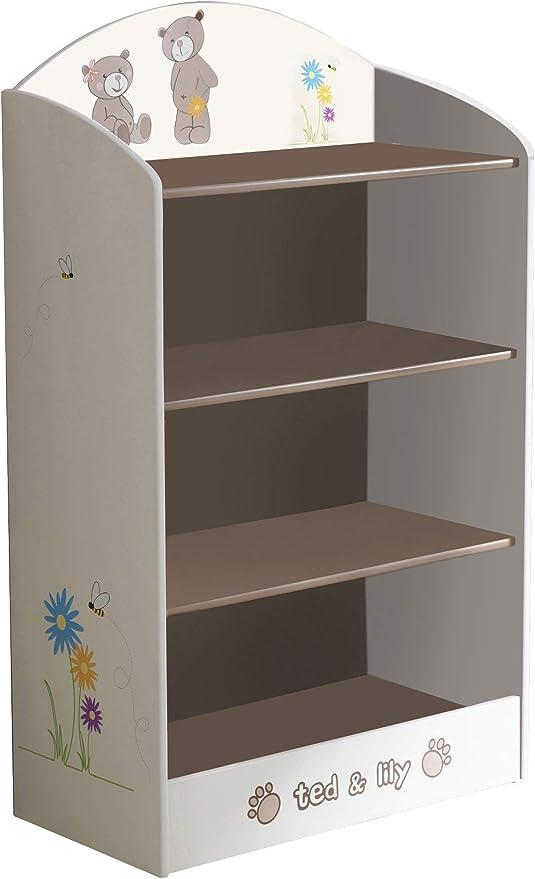 13Casa Teddy D1 Libreria bimbo. Dim: 60x30x100 h cm. Col