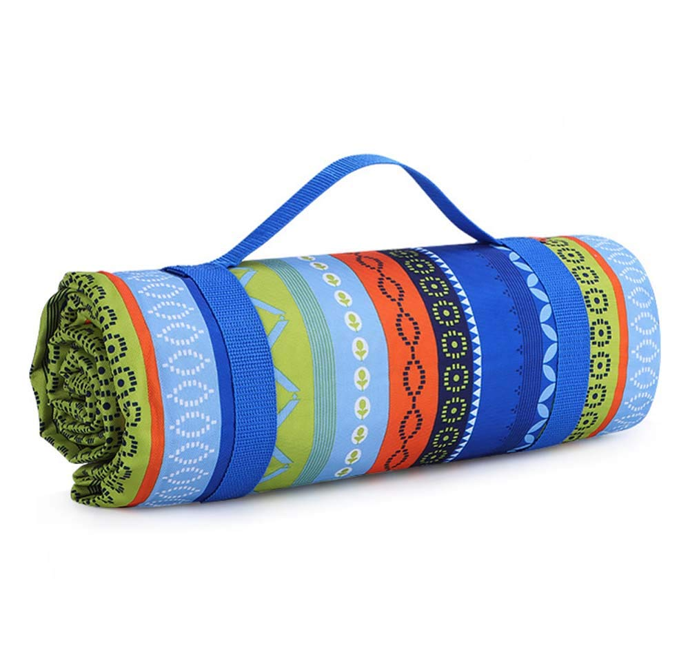 DADAO Picnic Mat Waterproof Washable,for Water-Resistant Handy Mat Tote Spring Summer Great for The Beach,Camping On Grass Waterproof Sandproof,1,200x143cm