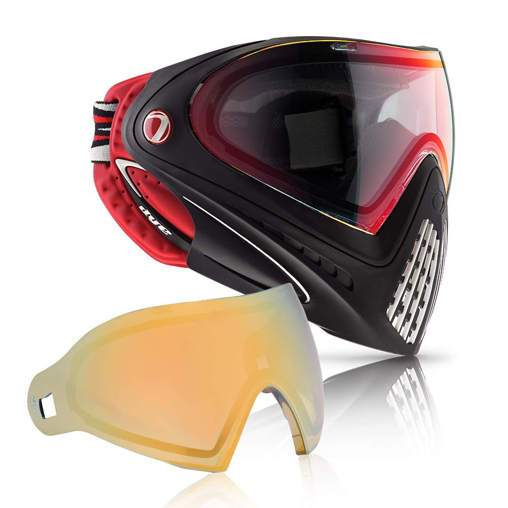 Dye i4 Paintball Goggle (Dirty Bird with Faded Bronze Sunrise Thermal Lens Combo) by Dye