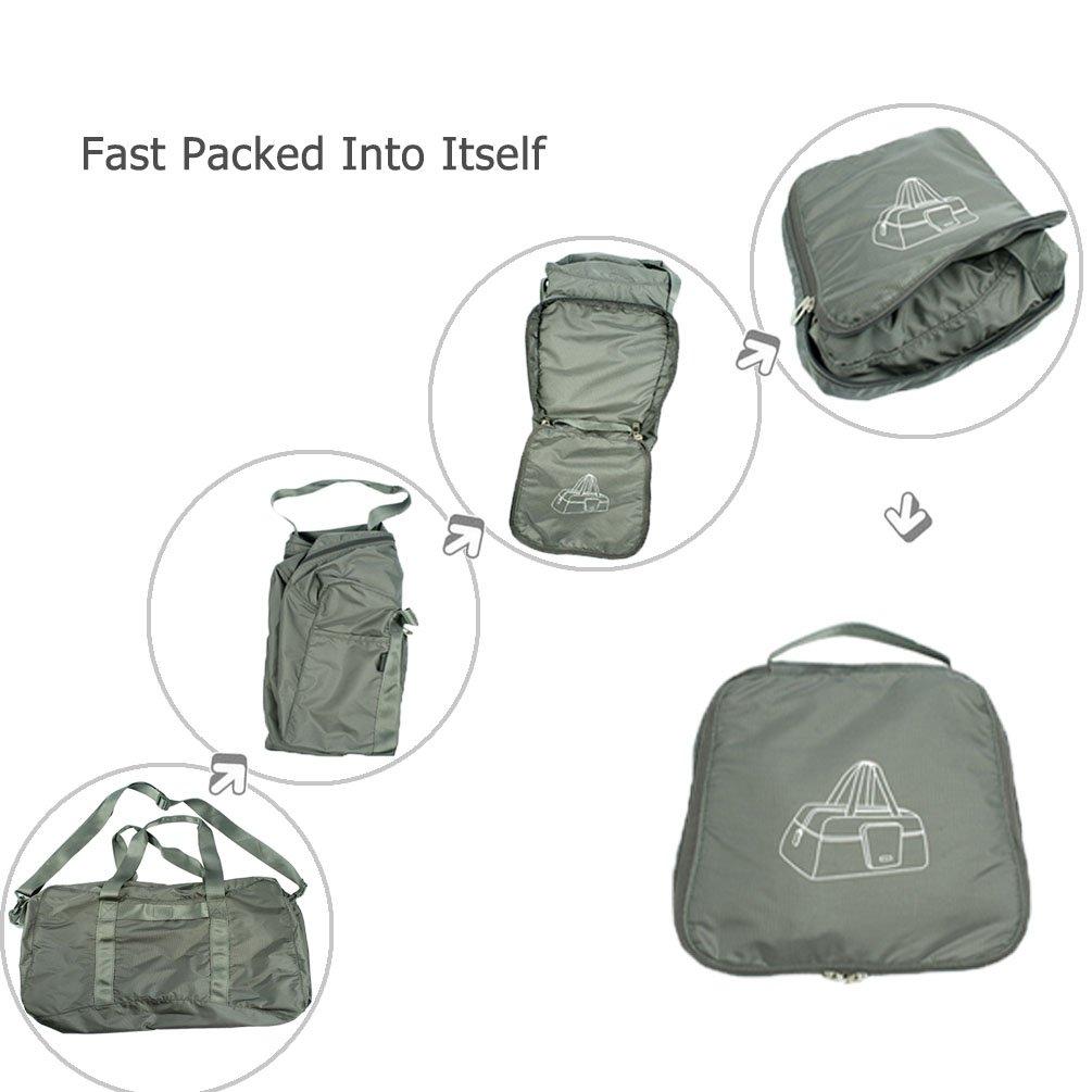 Oleader 40L Sac de Voyage Sac pliant sac pliable Sac de spor Pour camping randonn/ée voyage
