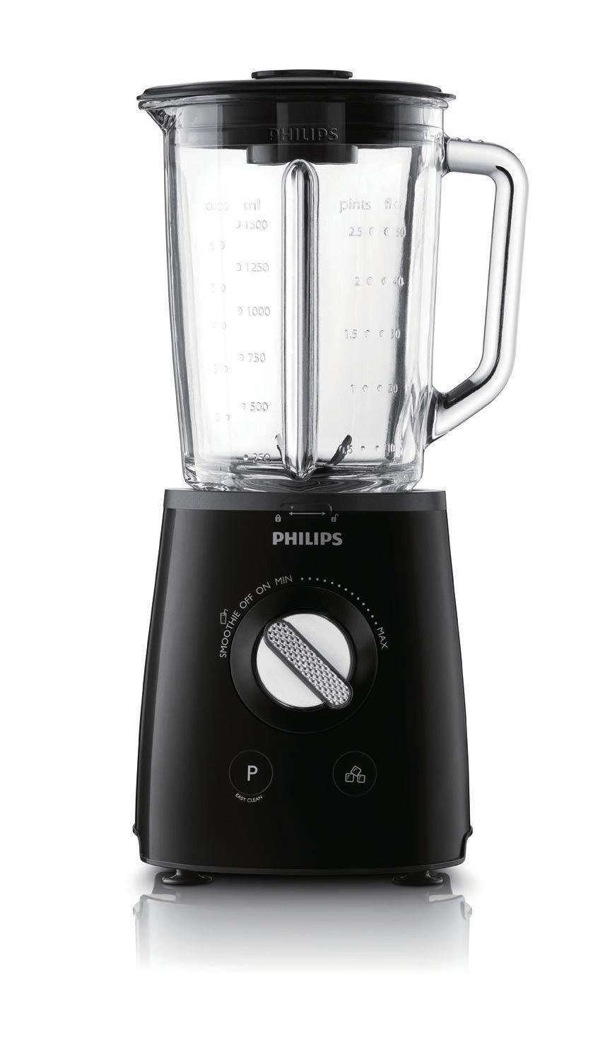 Philips Avance Collection HR2095/91 Batidora de vaso 1.5L 700W Negro - Licuadora (1,5 L, Batidora de vaso, Negro, 1 m, Vidrio, Polipropileno): Amazon.es: ...
