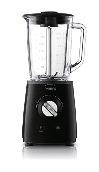 Philips Avance Collection HR2095/91 Batidora de vaso 1.5L 700W Negro - Licuadora (