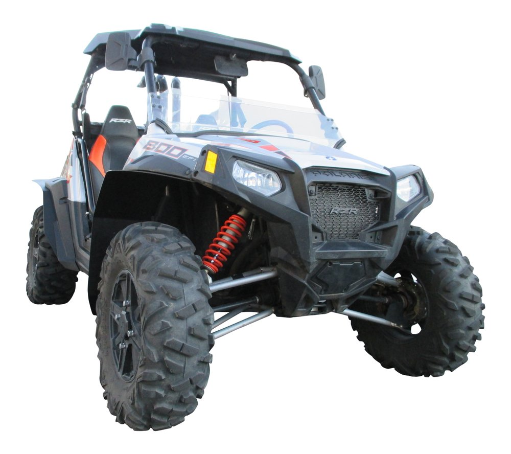 MudBusters HDPE fender extensions for Polaris RZR-S 800