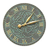 Artisan 16-in Indoor Outdoor Wall Clock - 02167