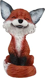 Gifts & Decor Ebros Sinister Pets Collector TeeHee Grinning Sly Fox Figurine 4.25