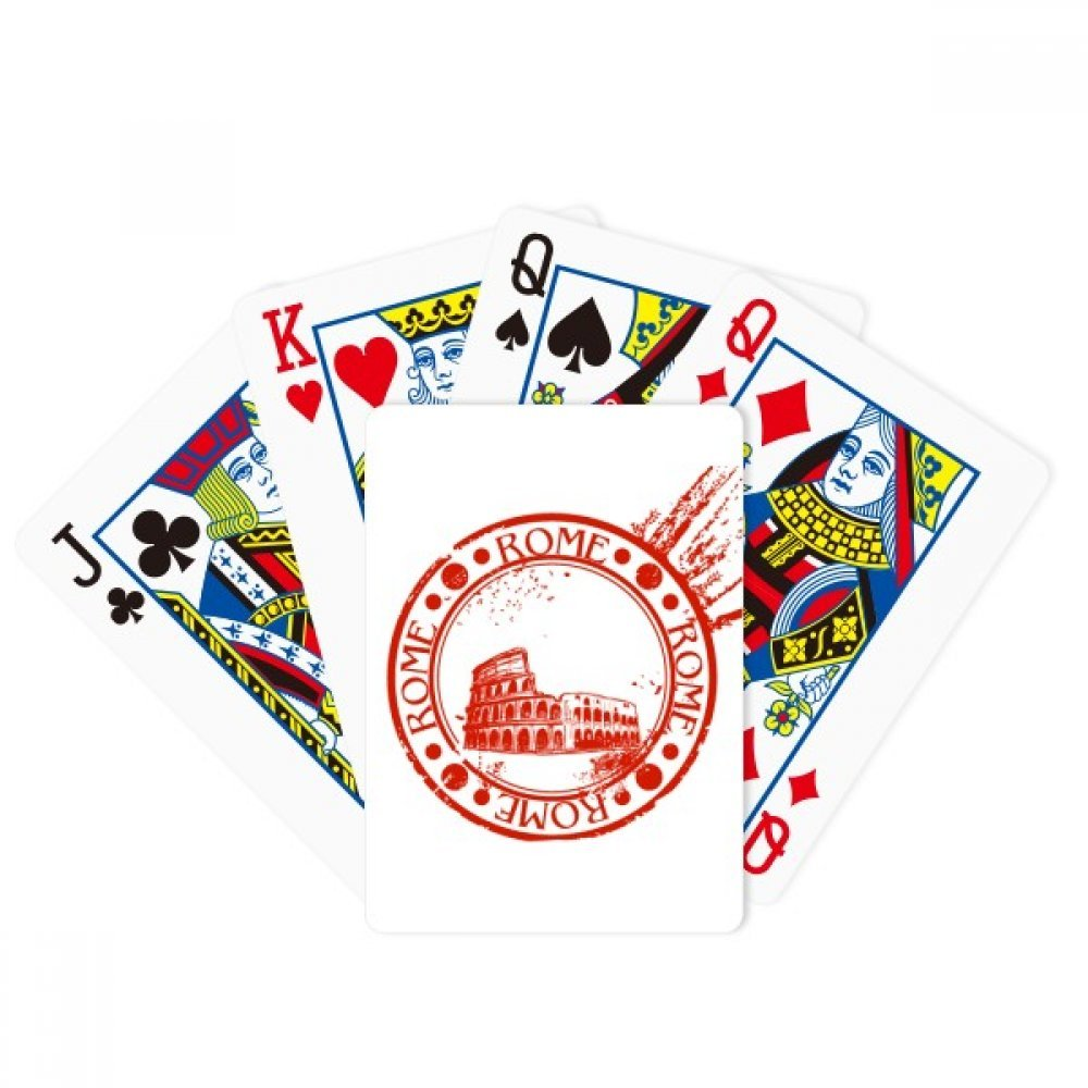 Italy Rome Pit Classic Country City Poker Playing Cards Tabletop Game Gift