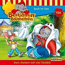 Spuk im Zoo (Benjamin Blümchen 136) Hörspiel von Vincent Andreas Gesprochen von: Jürgen Kluckert, Ulrike Stürzbecher, Gunter Schoß
