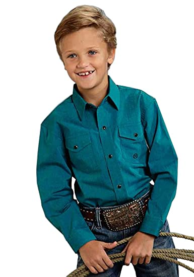 13b98a499 Roper 03-030-0265-0662 Amarillo Collection- Cold Mountain Shirt , Turquoise