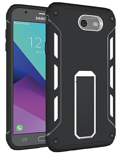 cheap for discount 75ebf 22211 For Samsung Galaxy J7V J7 V / J7 Perx / J7 Sky Pro / J7 Prime / Halo / J7  2017 Case, OEAGO [Heavy Duty] [Shockproof] Soft TPU & Hard PC Rugged Dual  ...