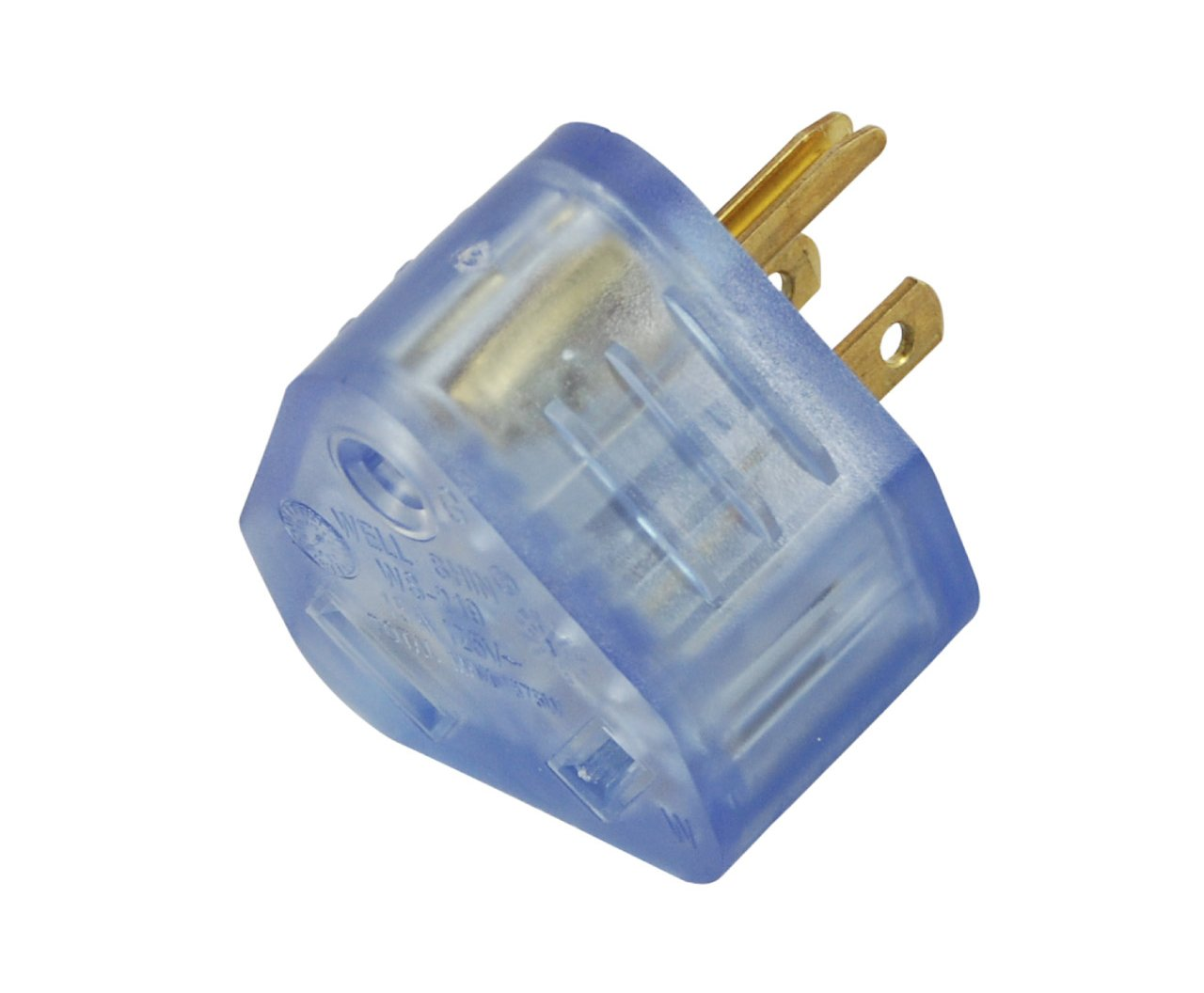 Conntek 15-Amp Male Plug to 30-Amp RV Female Connector RV Lighted Adapter Conntek - Sporting Goods 14101-LTP