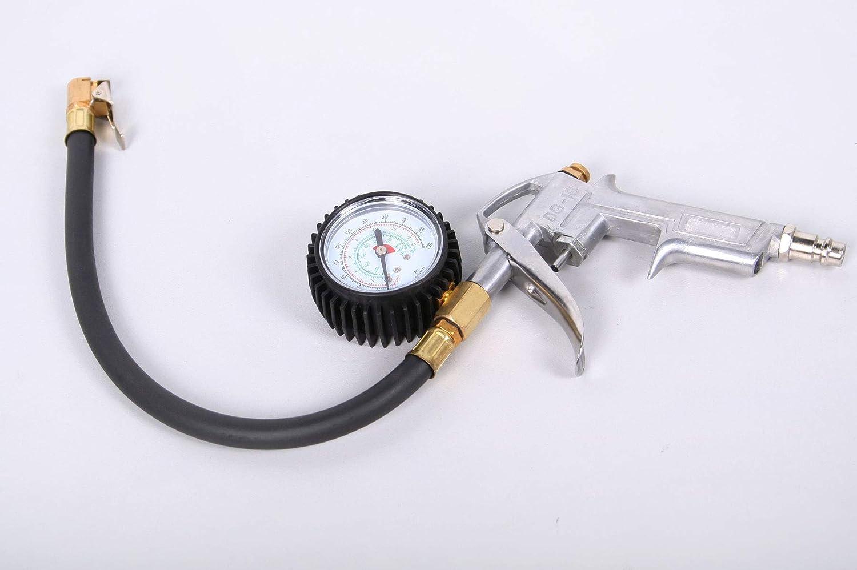 Grodenberg - Pistola Professionale per gonfiaggio Pneumatici con manometro