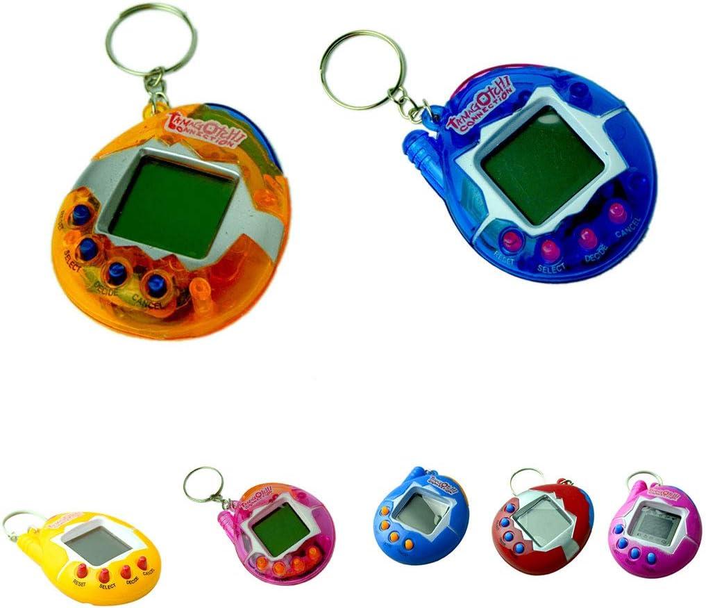 Ben-gi Multi-Couleurs dr/ôle Nostalgiques Virtual Cyber Pet Toy Animaux /électroniques de Poche Portable Porte-cl/és Jouets