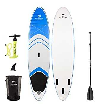 Fit Ocean Magic Glide 10,8, azul. Tabla de surf de remo hinchable