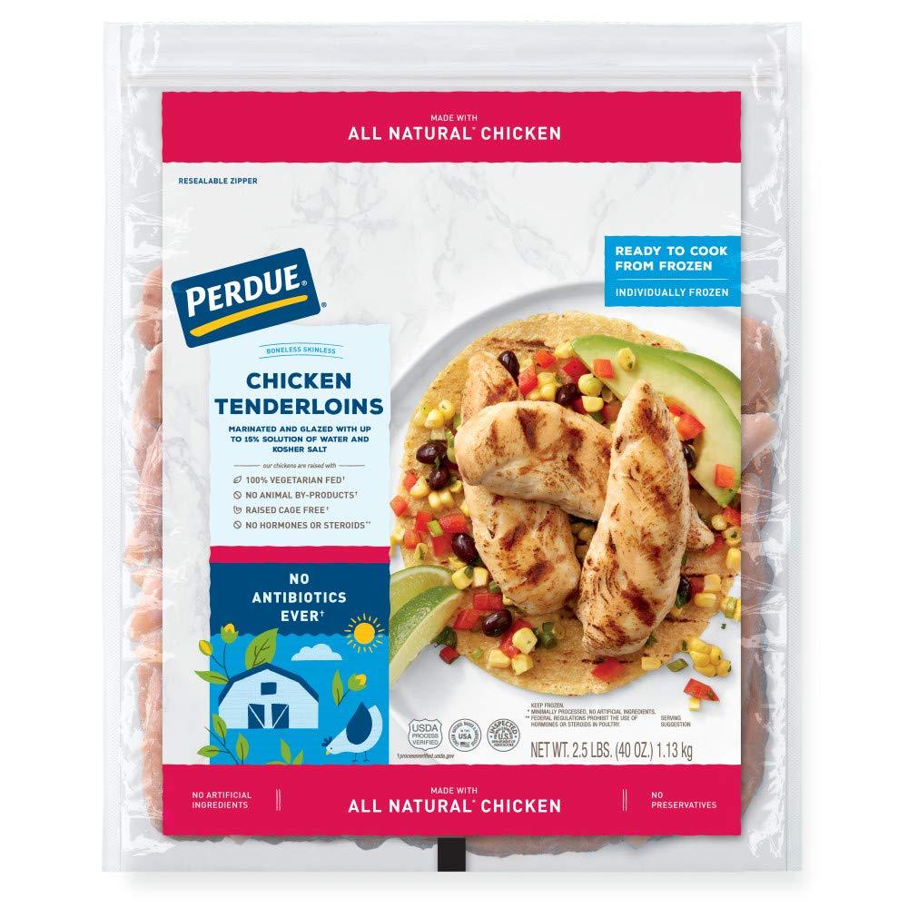 Perdue, Chicken Breast Tenderloins, Boneless Skinless, Ready to Cook, 2.50 lbs (Frozen)