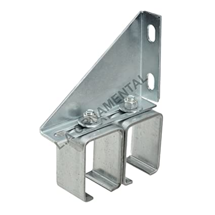 Sliding Barn Door Track Hardware Double Wall Box Rail Bracket Overhead  Galvanized Steel