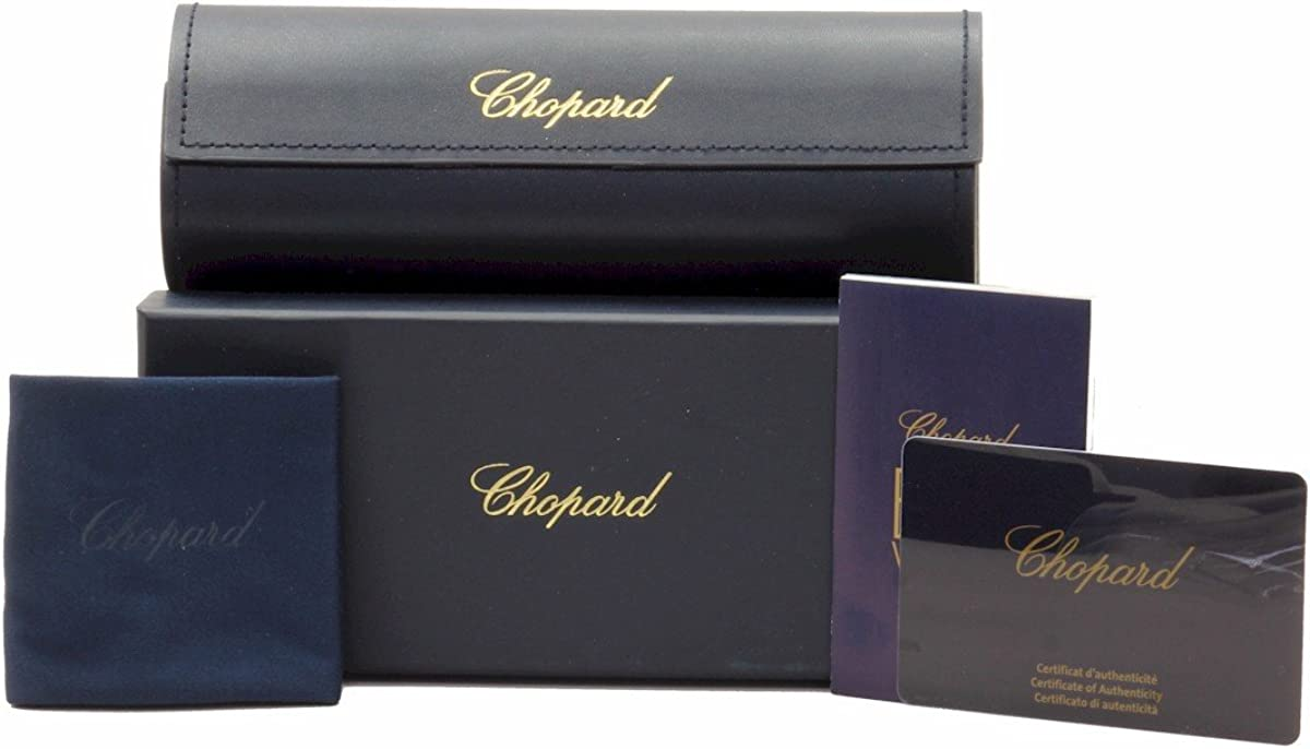 Chopard Eyeglasses VCH199S 199//S 09AJ Black//23KT Gold Plated Optical Frame 54mm