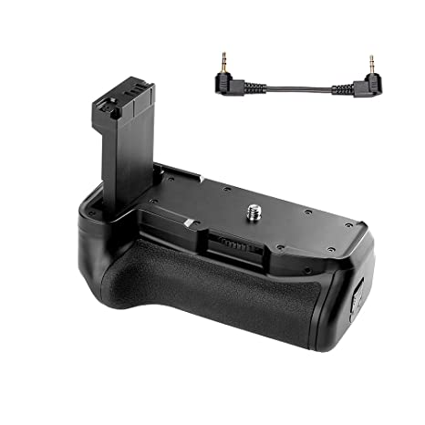 TOPTOO Soporte Vertical de empuñadura de batería para cámara ...