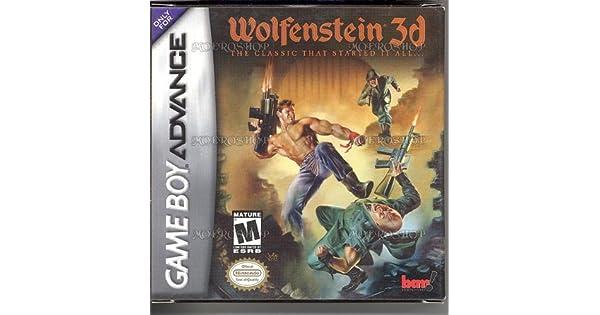 wolfenstein game boy advance