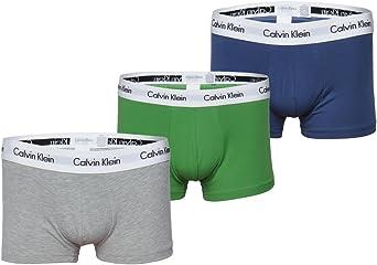 Calvin Klein Calzoncillos bóxer para Hombre Cintura Baja Azul ...
