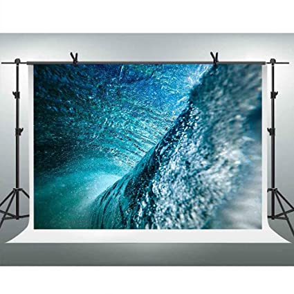 Amazon com : FHZON 7x5ft Mammoth Waves Backgrounds for Photography