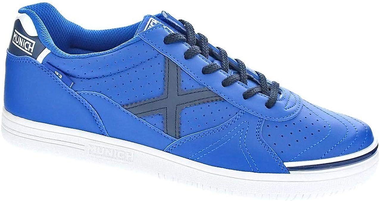 Munich Football Shoes G3 Indoor Blue