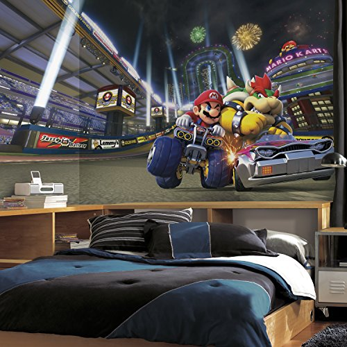 RoomMates Nintendo - Mario Kart 8 Prepasted, Removable Wall Mural - 6' X 10.5' by RoomMates (Image #2)