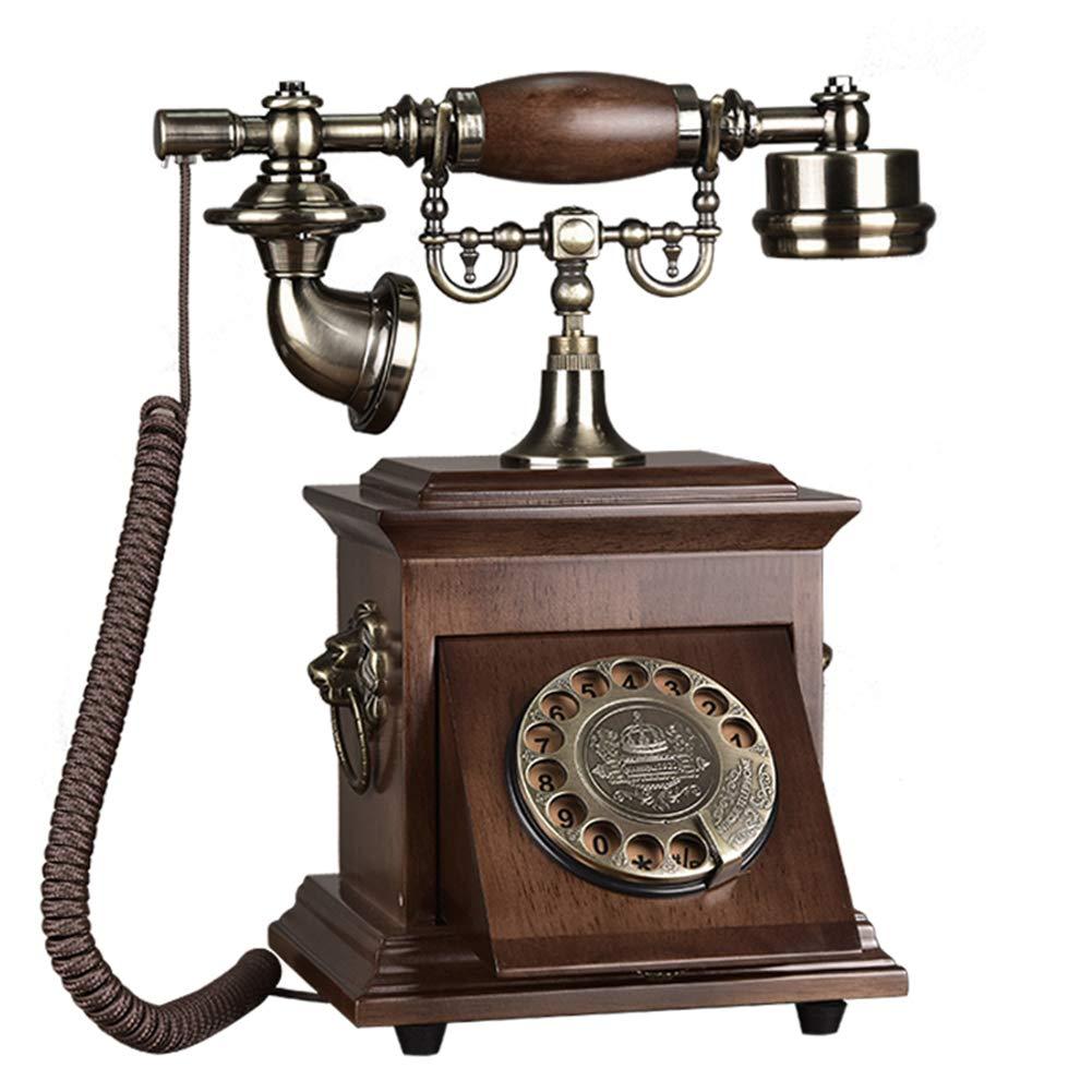 Antique Telephone Rotary Phone Home Landline Retro Phone by Telephone