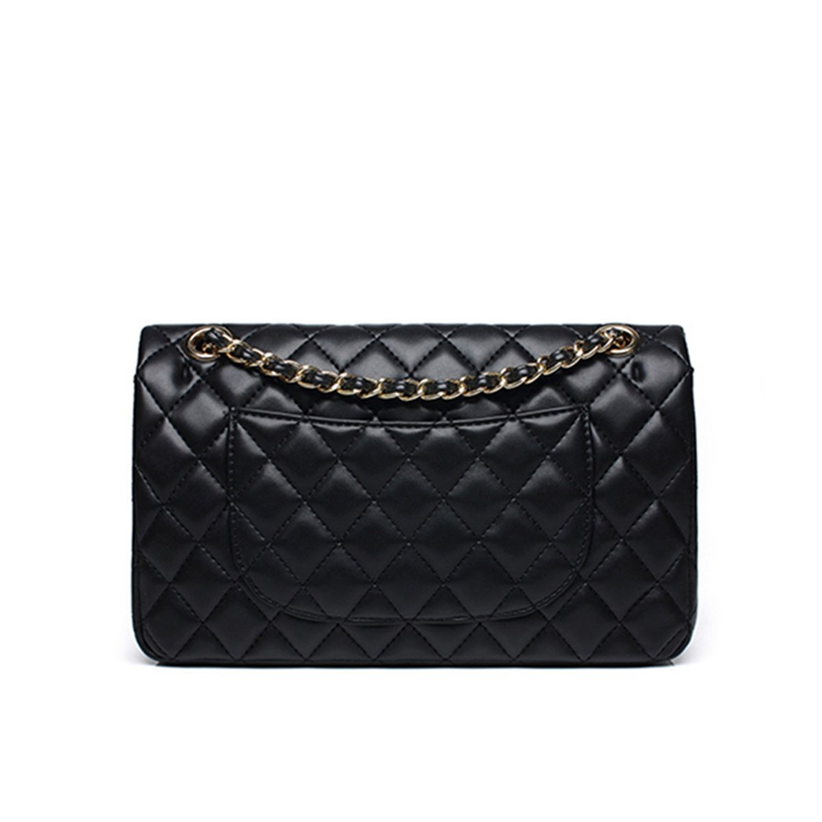 e7550e608dac Women's Chain Quilted PU Leather Shoulder Bag
