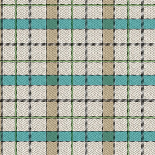 Rectangle Tablecloth 55 x 95-inch   TEAL Green Modern Boxes Vinyl Indoor & Outdoor Table Cover