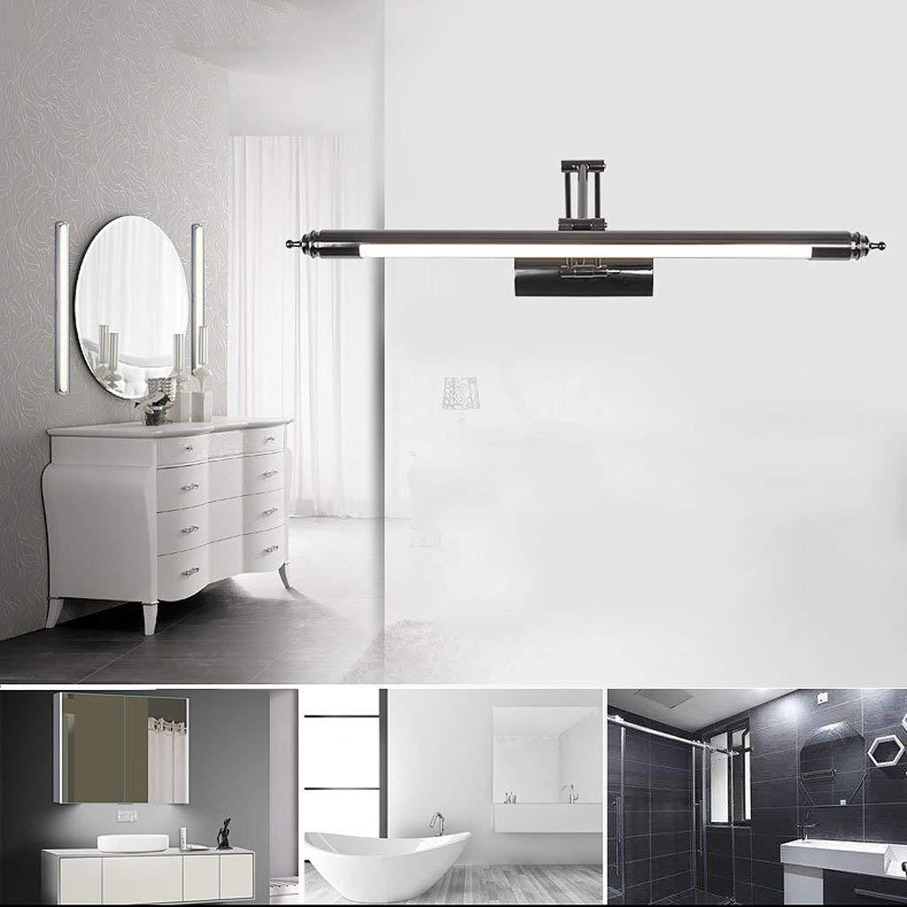 Mirror Lamps Home Led Spiegel Scheinwerfer Spiegel Kabinett Lampe Badezimmer Moderne Minimalistische Spiegel Lampe Versenkbare Badezimmer Badezimmer Lampe Spiegel (Farbe   64  17)
