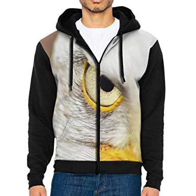 the latest b871d 4800c Eagles Zip Up Hoodie Casual Pullover Hooded Sweashirt Jacket ...