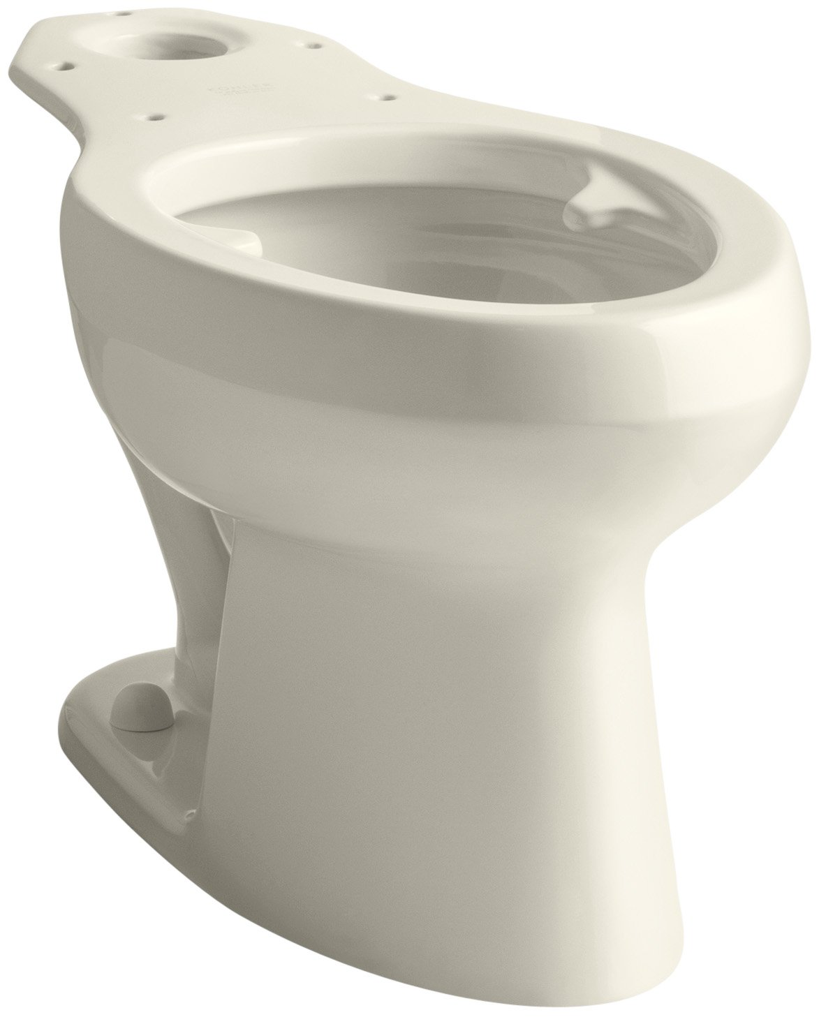 Kohler K-4303-L-47 Wellworth Pressure Lite Toilet Bowl with Bed Pan Lugs, Almond